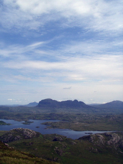 The view from Stac Pollaidh