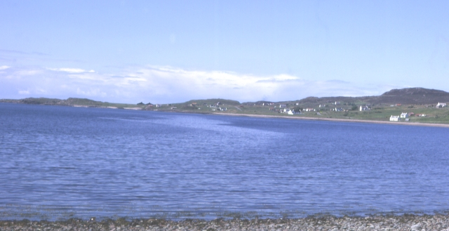 Looking towards Mellon Charles from Aird Point