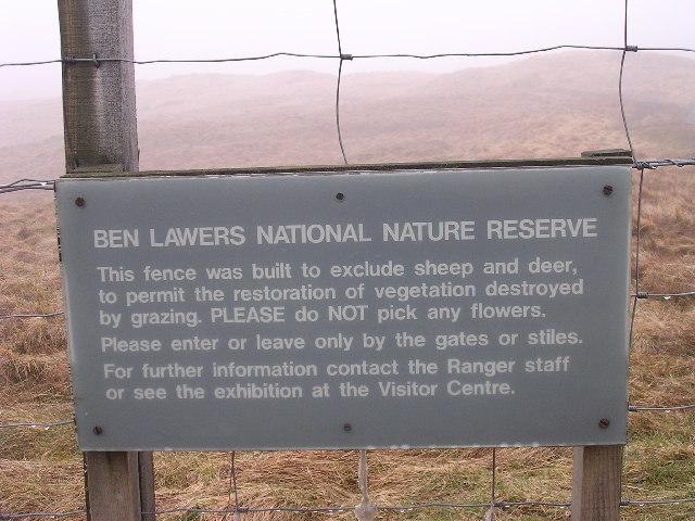 Ben Lawers NNR