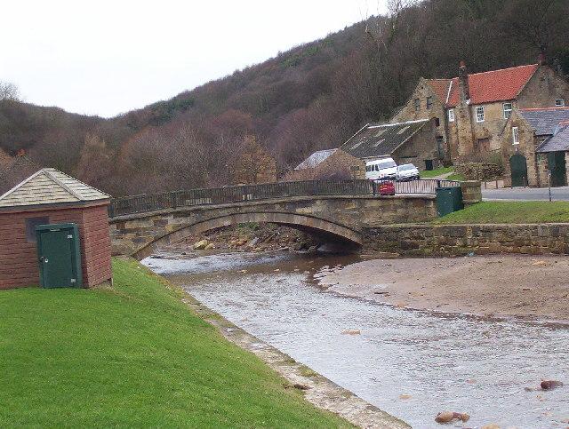 Bridge at Sandsend