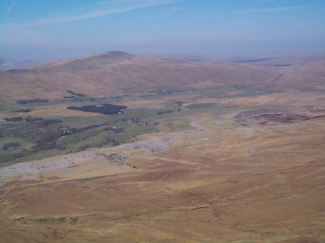 Whernside from the summit of Ingleborough