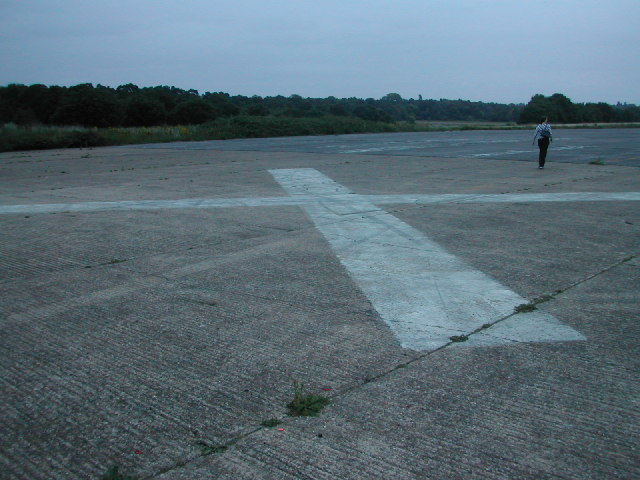 Abandoned Wisley Airfield