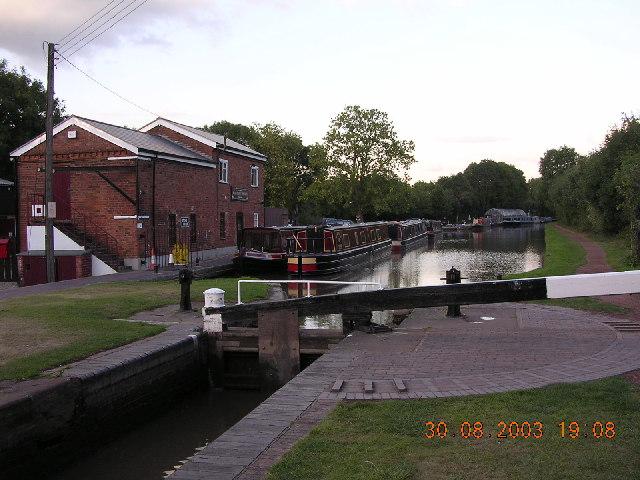 Stoke Prior Wharf