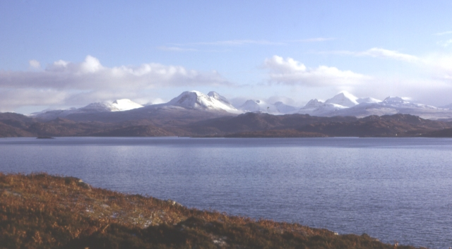 Torridon from Gairloch