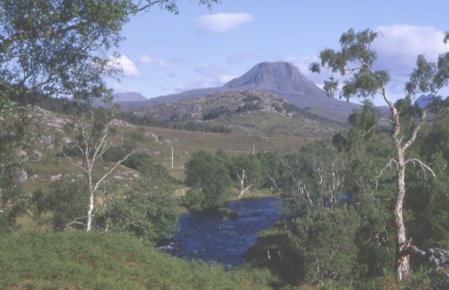 Baosbheinn and River Kerry