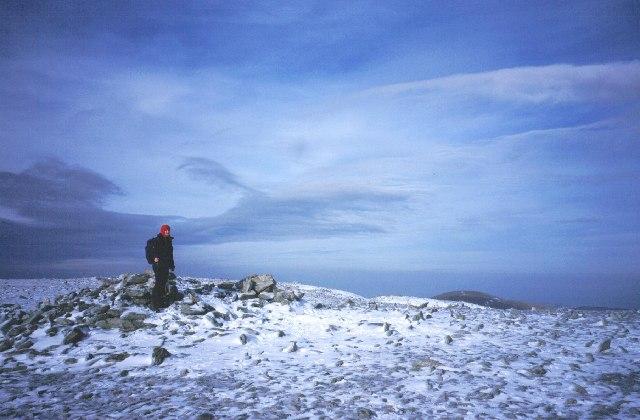 Summit of Carnedd Llewelyn.