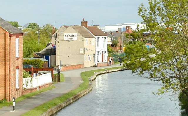 Albion Inn, on the Grand Union Canal, Loughborough