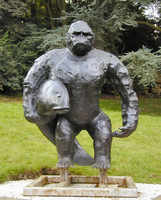 Gorilla at Waddesdon