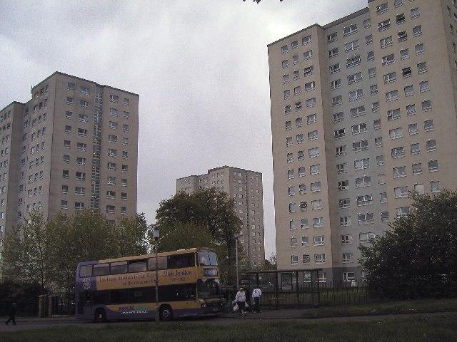High Rise 'council' flats