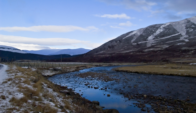 Clunie Water, South of Braemar
