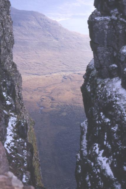 The Great Gash of Beinn Alligin