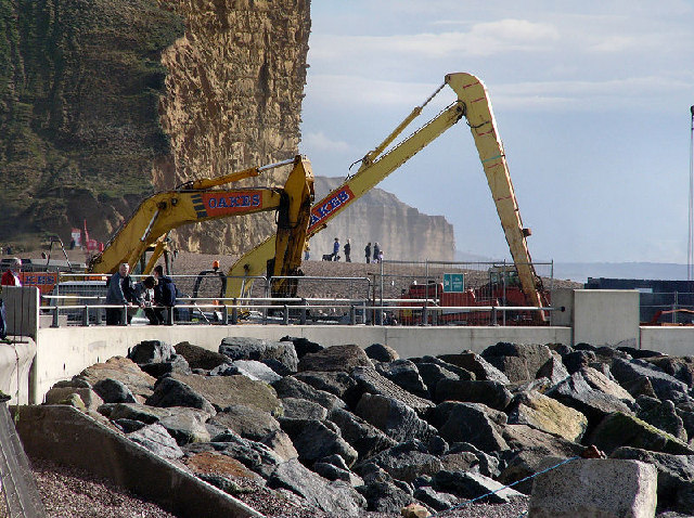New harbour for West Bay nears completion