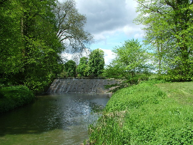 The weir at Latimer