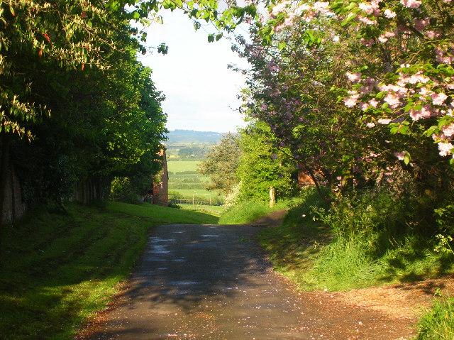 Easington Hamlet looking west towards Beckley