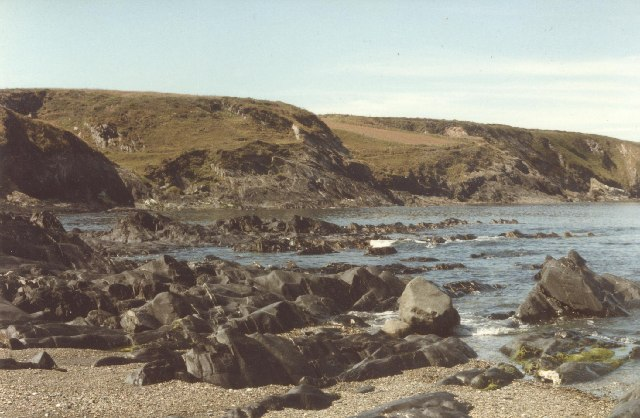 Abereiddy rocks