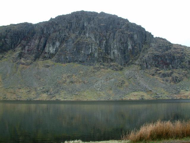 Pavey Ark across Stickle Tarn