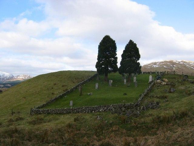 Old graveyard, Kirkton