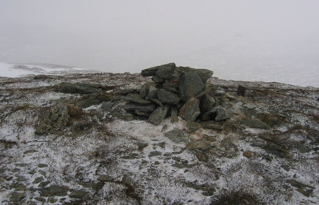 The summit of Meall Breac