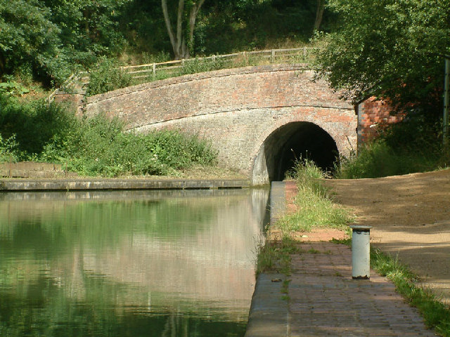 Southern portal of Blisworth Tunnel