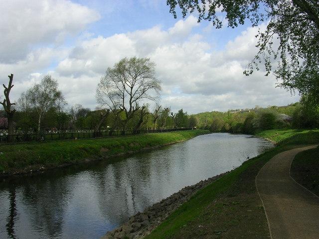 River Irwell, Salford