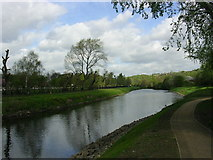 SD8001 : River Irwell, Salford by Keith Williamson