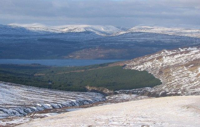 Northern slopes of Carn Gorm