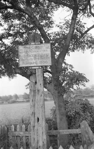 Gibbet Post 1951
