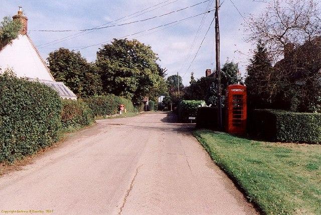 Kettlebaston Village