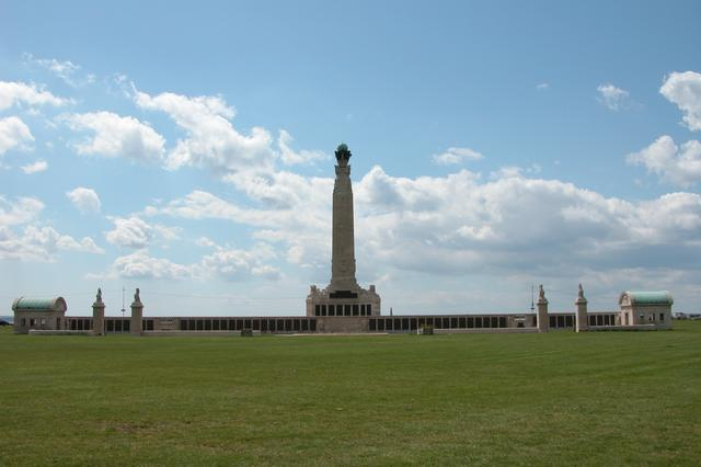The Royal Naval War Memorial on Southsea Common