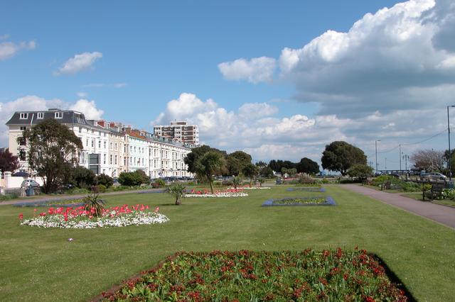 Flower Gardens along Southsea promenade