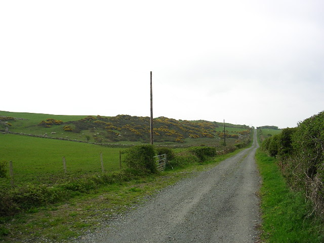 Road to Nant Isaf