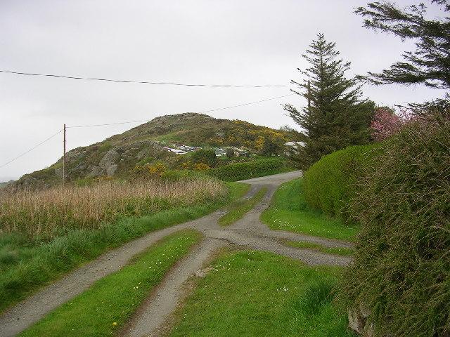 Pen y  Castell, Mynydd Bodafon, Anglesey