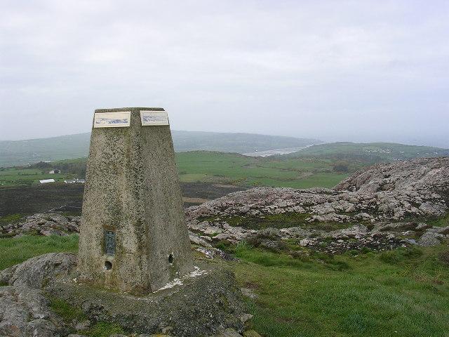Summit view, Yr  Arwydd, Anglesey