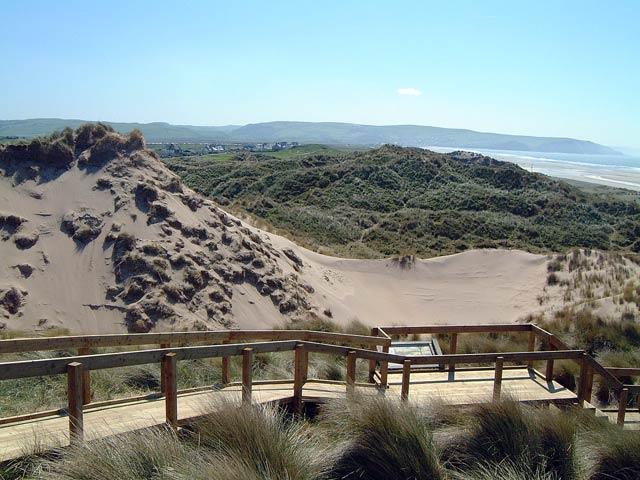Dunes at Ynyslas