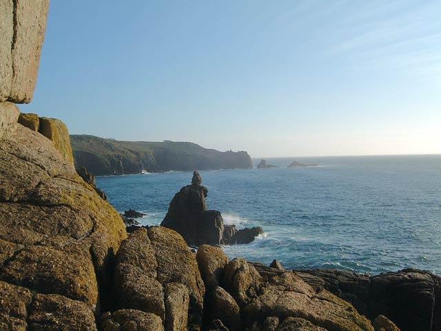 Sennen cliffs