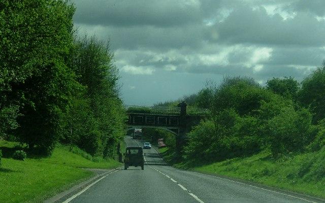 Aqueduct over A5