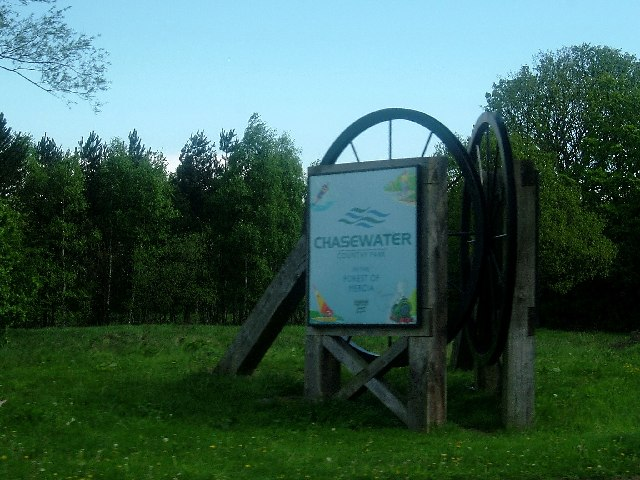 Chasewater Sign