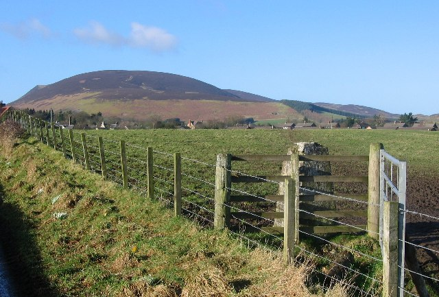 Tinto, Trig and farmland, Symington