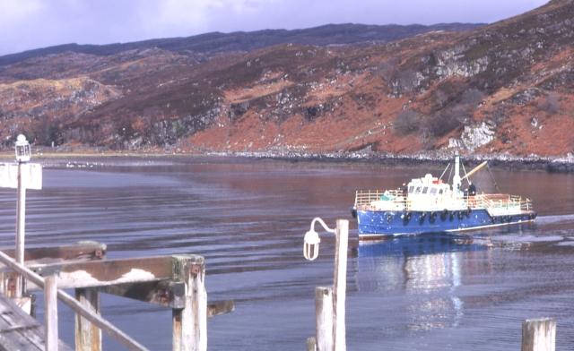 Toscaig Ferry