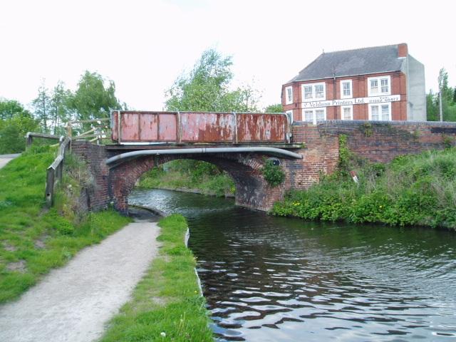 Limekiln Bridge, Staffs & Worcs. Canal, Kidderminster