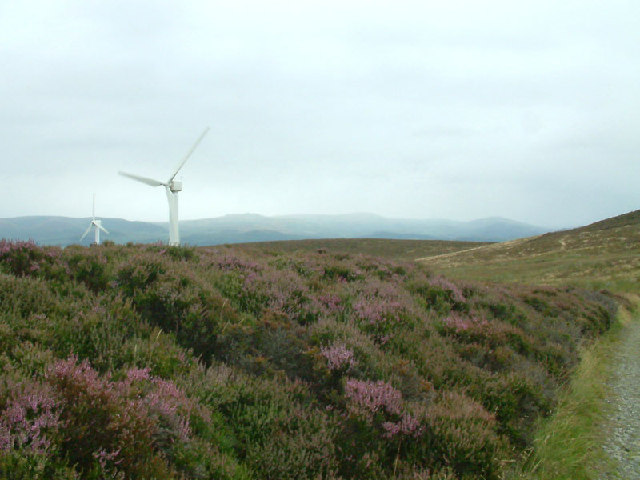 Wind turbines on Kirkby Moor