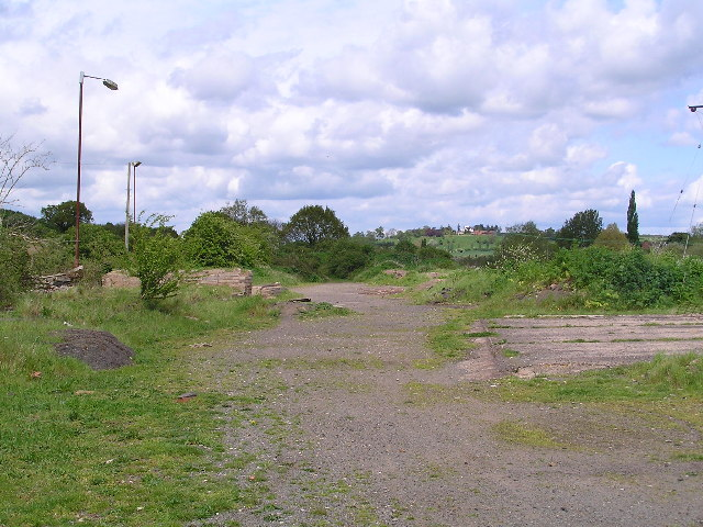Site of Broom Junction Station