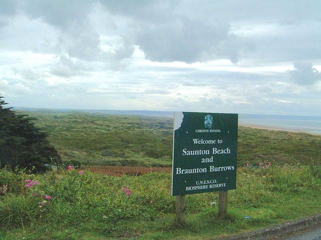 Overview of Braunton Burrows