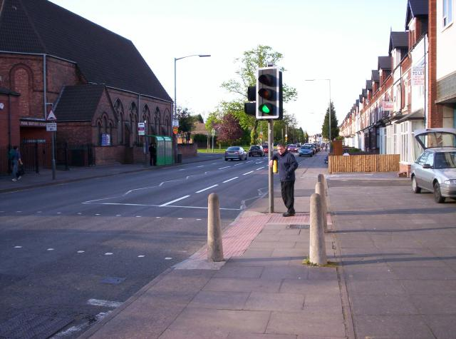 Pershore Road, Selly Park, Birmingham