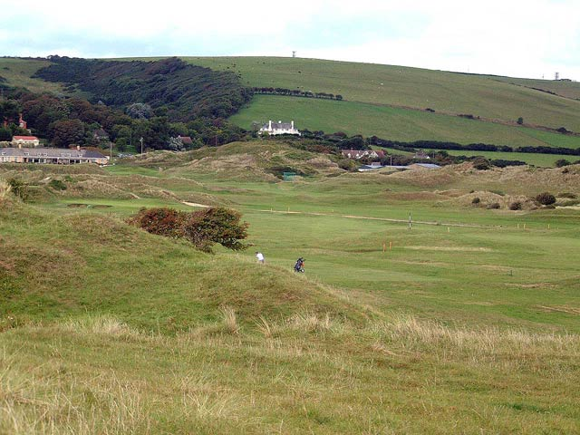 Golf course at Saunton
