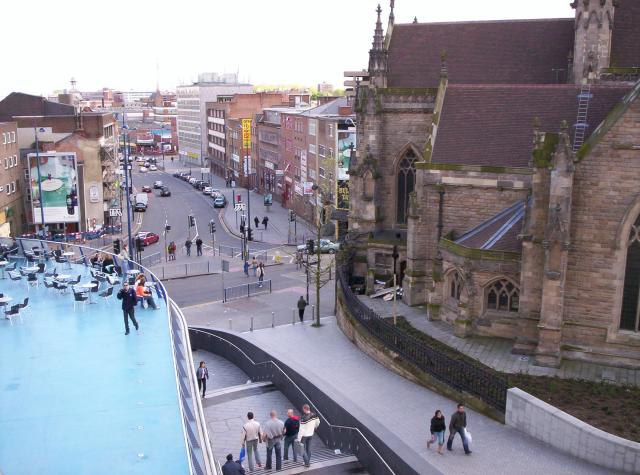 View south from the Bullring, Birmingham