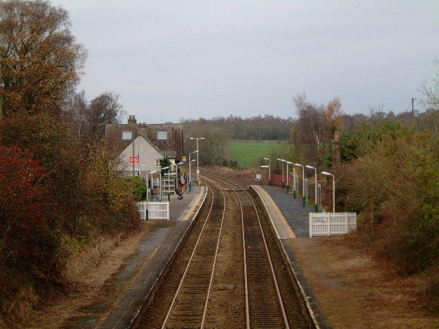 Silverdale Railway station