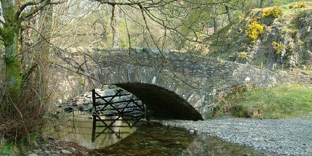 Shepherd's Bridge,  High Yewdale