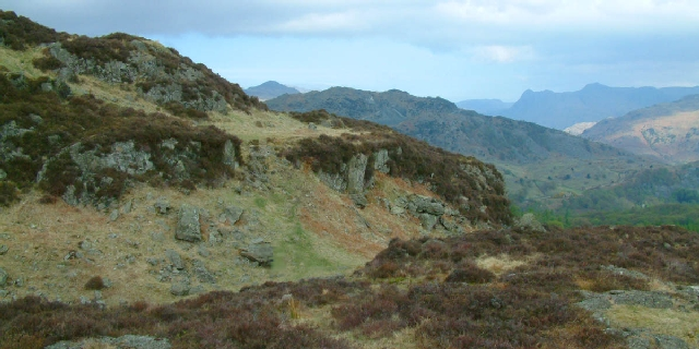 Holme Fell and Ivy Crag