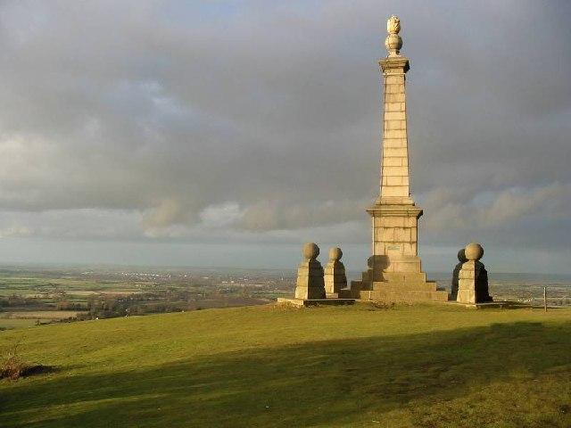 Boer War Memorial on Coombe Hill